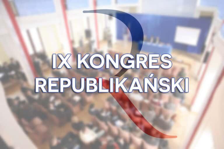 Program IX Kongresu Republikańskiego