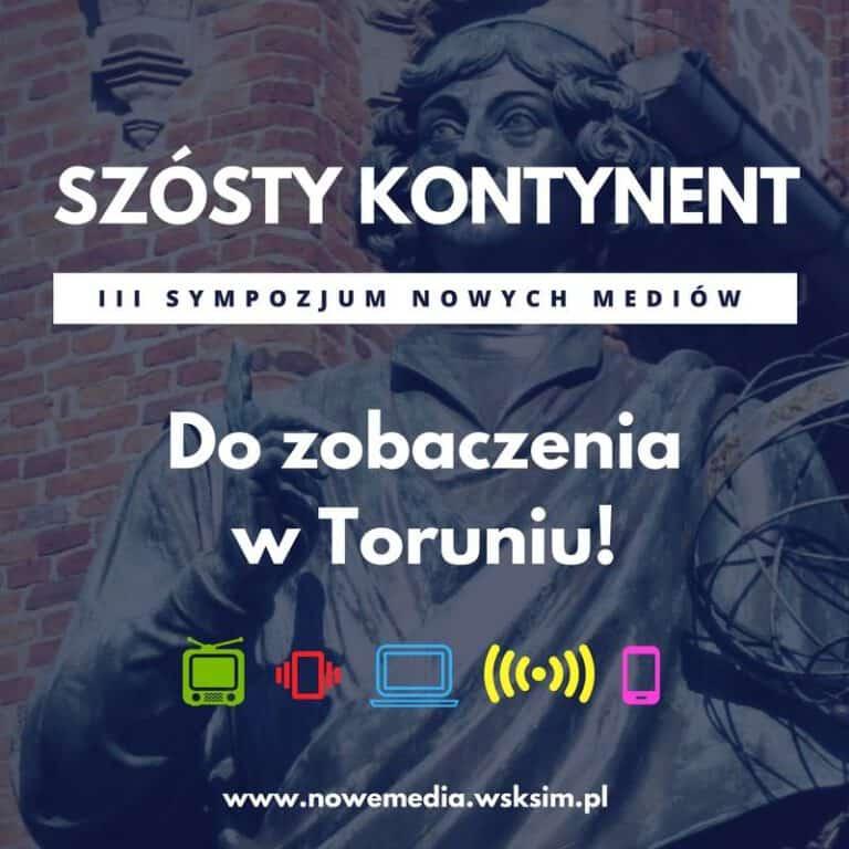"""Debata o prawie autorskim z naszym udziałem na konferencji """"Szósty kontynent"""" w WSKSiM"""