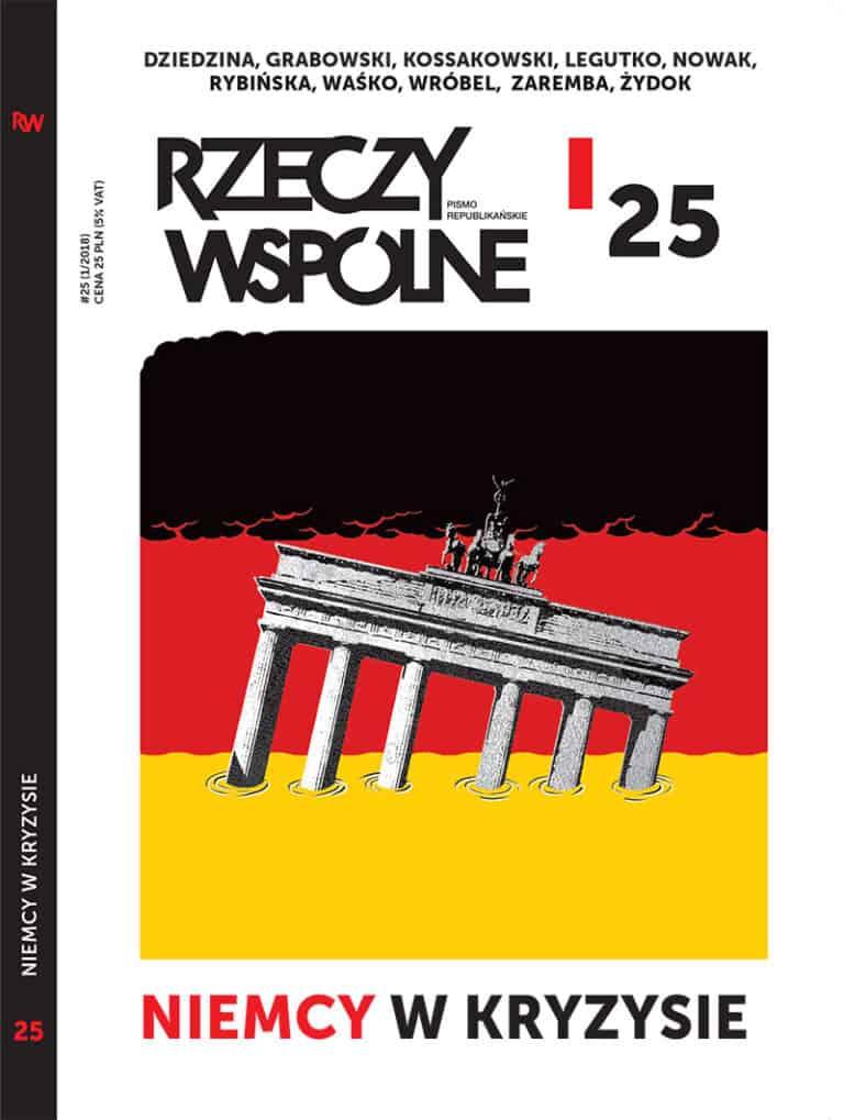 Rzeczy Wspólne #25: nowy redaktor naczelny i nowy numer