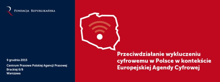 """Raport z seminarium """"Przeciwdziałanie wykluczeniu cyfrowemu w Polsce w kontekście Europejskiej Agendy Cyfrowej"""""""