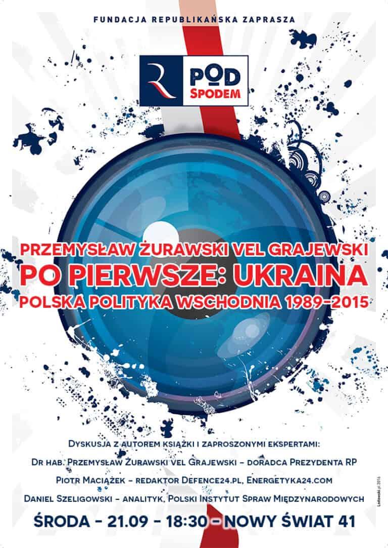Pod Spodem: Po pierwsze Ukraina. Polska polityka wschodnia 1989-2015