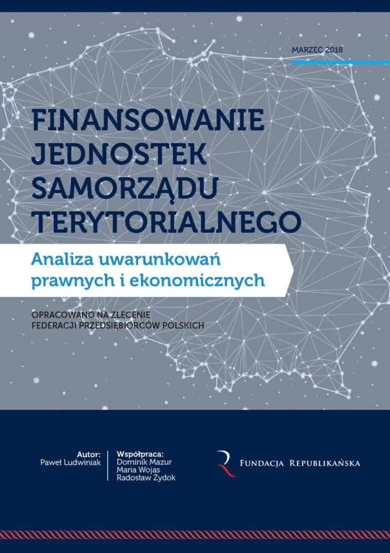 """Zaproszenie na prezentację raportu """"Finansowanie jednostek samorządu terytorialnego"""""""