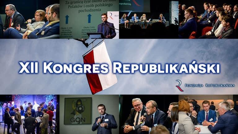 Pełny program XII Kongresu Republikańskiego