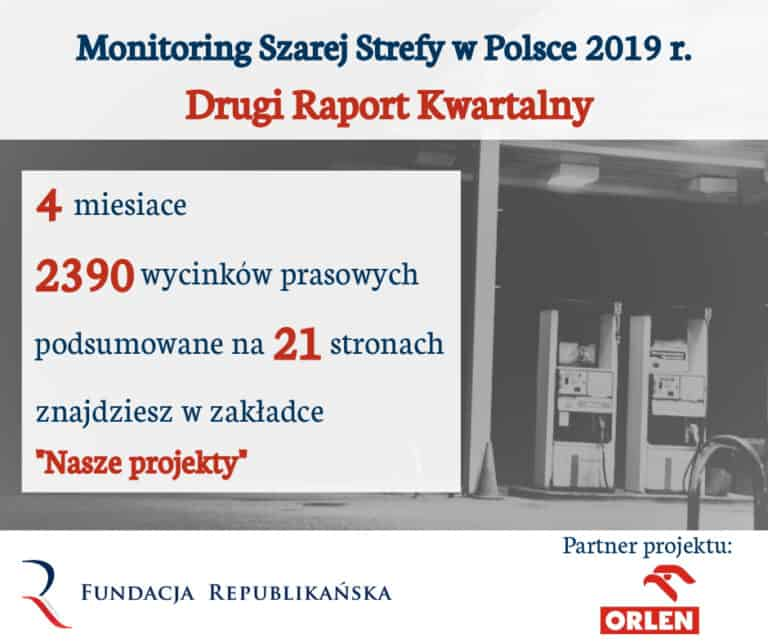 Monitoring Szarej Strefy w Polsce 2019