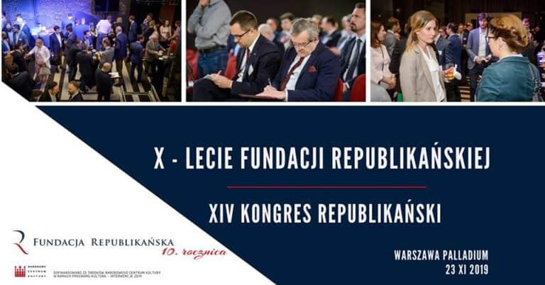 XIV Kongres Republikański już 23 listopada w Warszawie.